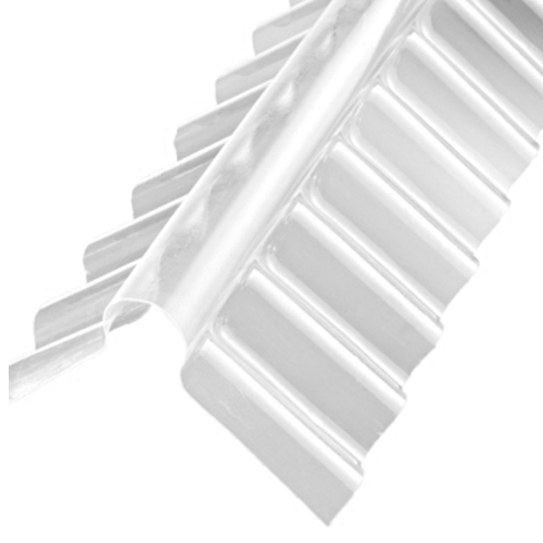 "Adjustable Ridge for use with 3"" Profile PVC Corrugated Roof Sheets"