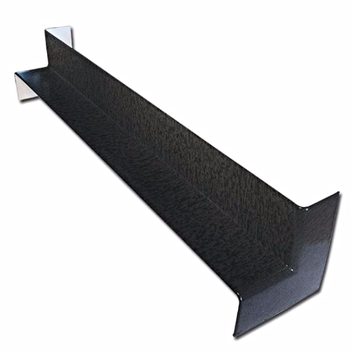 Anthracite uPVC Internal Fascia Corner 500mm Double Ended