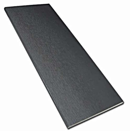 Anthracite uPVC Plain Soffit Board 9mm 5mt 200mm