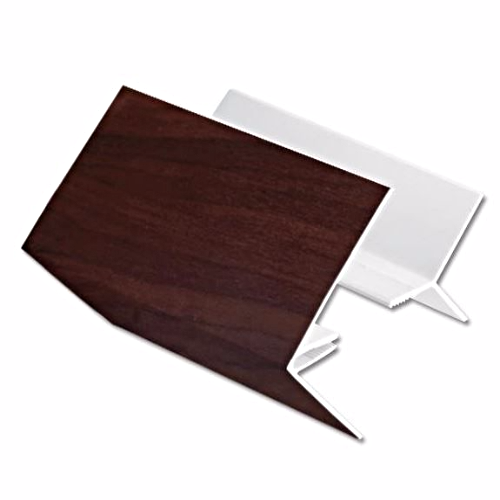 Cladding 2 Part External Corner Trim UPVC Rosewood
