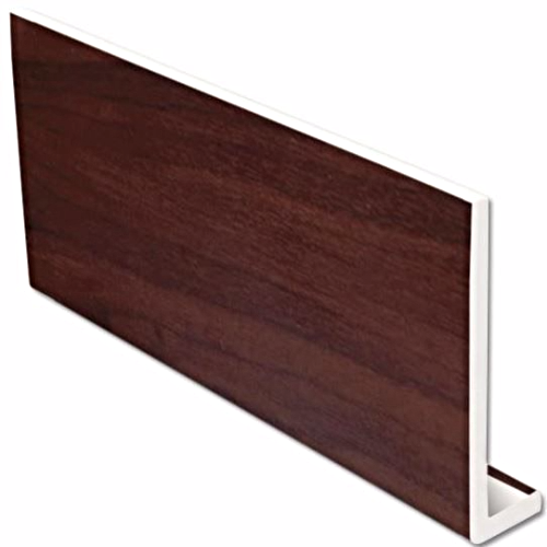 Rosewood uPVC Fascia Capping Board 9mm 5mt