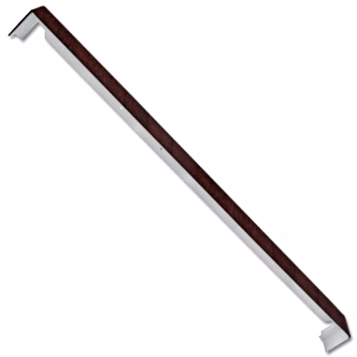 Rosewood uPVC Fascia Joint 500mm Double Ended