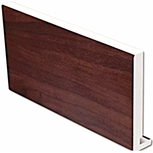 Rosewood uPVC Replacement Fascia Board 16mm 5mt 225mm
