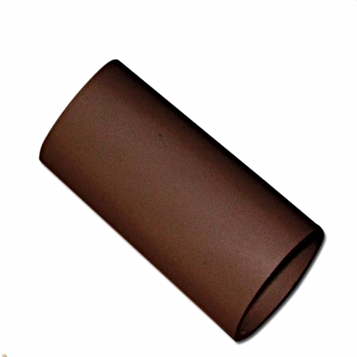 Round 4m Down-Pipe Floplast Brown RP4