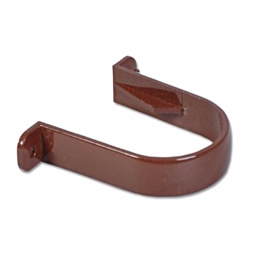 Round Down-Pipe Clip Brown RC1