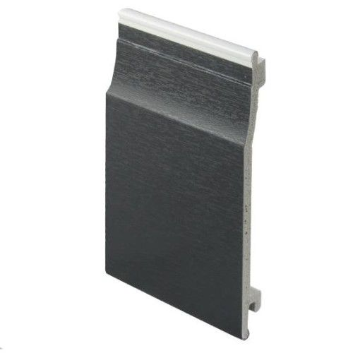 Shiplap Cladding UPVC Anthracite (Dark Grey) 150mm