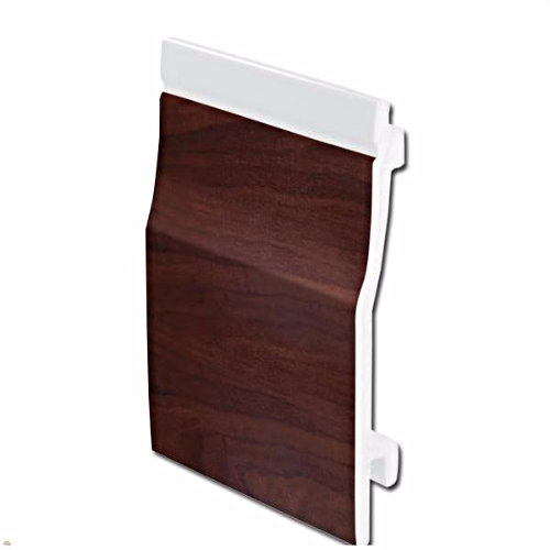 Shiplap Cladding UPVC Rosewood 150mm