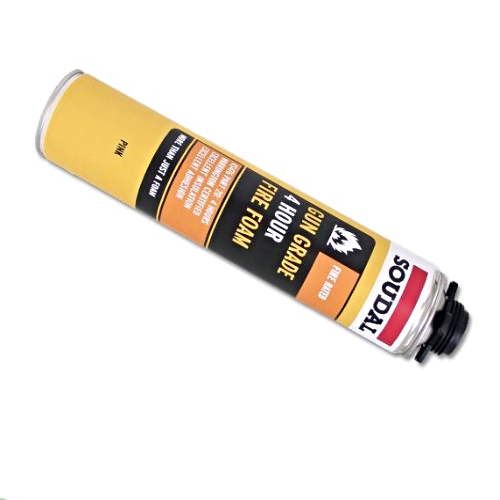 Soudal 4hr Fire Rated Expanding Gun Grade Foam 750ml (BS476)