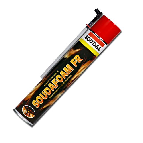 Soudal 4hr Fire Rated Expanding Hand Held Foam 750ml (BS476)