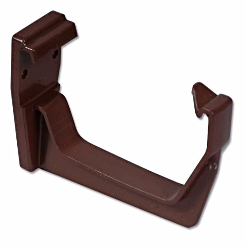 Square Gutter Fascia Bracket Floplast Brown RKS1