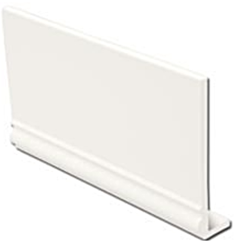 White Ogee uPVC Fascia Capping Board 9mm 5mt 225mm