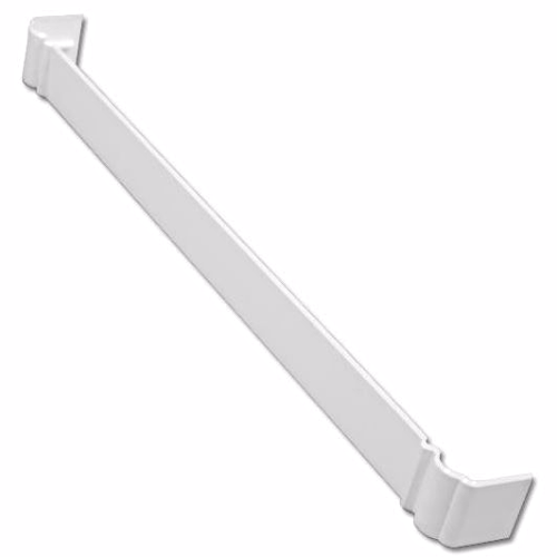 White uPVC Ogee Fascia Joint 500mm
