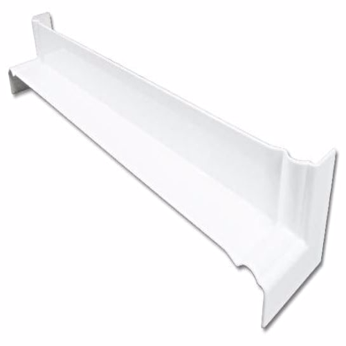 White uPVC Ogee Internal Fascia Corner 500mm
